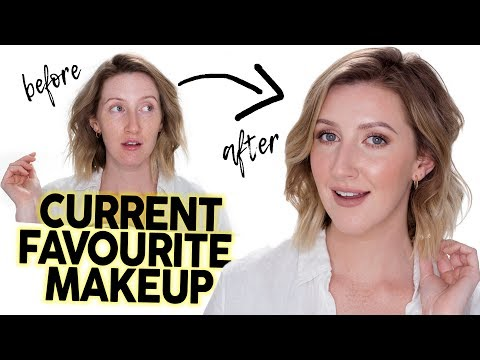 FULL FACE USING CURRENT FAVES  Makeup Tutorial September 2017  Sharon Farrell