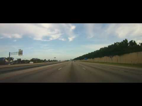 Driving from Lehigh Acres to Tampa, Florida on I75