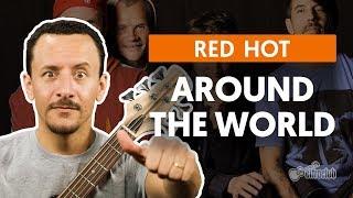 AROUND THE WORLD - Red Hot Chili Peppers  (aula de baixo)