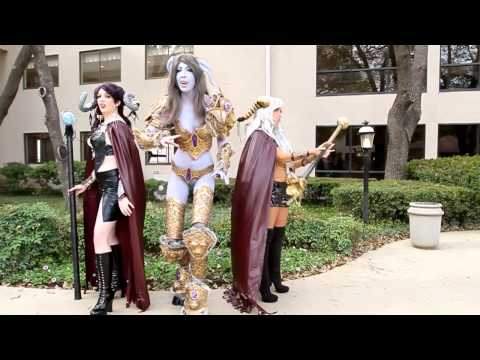 WORLD OF WARCRAFT INSPIRED COSPLAY