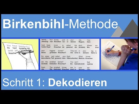 Birkenbihl-Methode: 1. Schritt