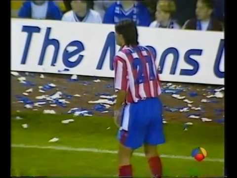 Leicester City 0-2 Atlético Madrid- 30 Sept 1997