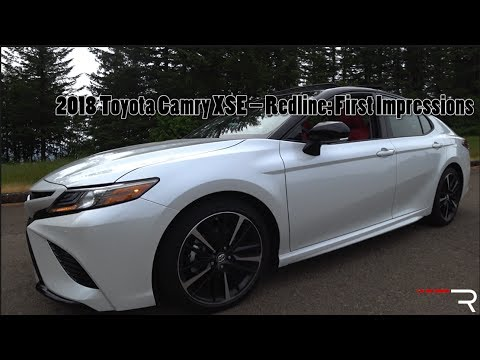 2018 toyota camry xse redline first impressions youtube. Black Bedroom Furniture Sets. Home Design Ideas