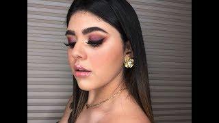 Maquillaje en tonos ROJIZOS/Sofía López❤