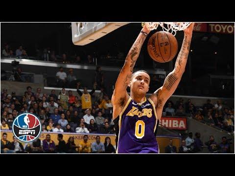 Kyle Kuzmas career-high 41 spoils Blake Griffins Staples Center return | NBA Highlights