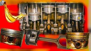 Почему автомобильные двигатели жрут масло