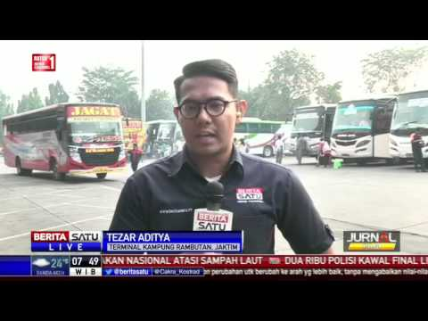 H-10 Lebaran, Terminal Kampung Rambutan Diprediksi Ramai