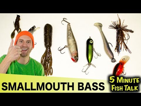 Best Fishing Lures For Smallmouth Bass