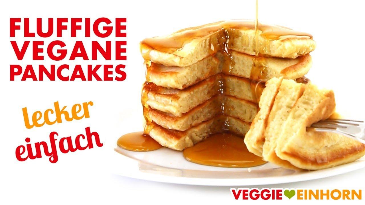 fluffige vegane pancakes leckeres pfannkuchen rezept ohne ei ohne milch und ohne banane. Black Bedroom Furniture Sets. Home Design Ideas