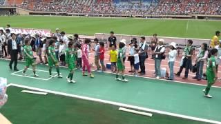 6月10日 INAC神戸戦 国立競技場.