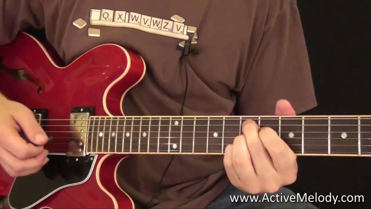 B.B. King's Guitar Style - Guitar Lesson