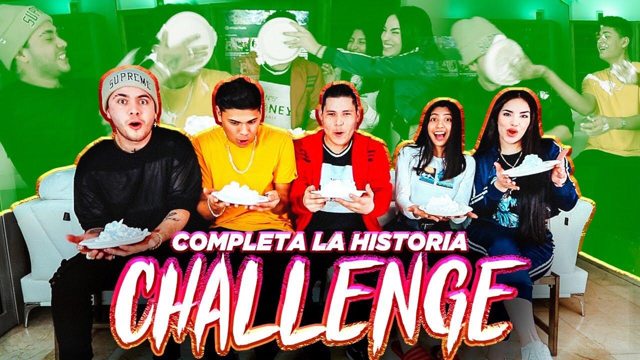 COMPLETA LA HISTORIA CHALLENGE (TEAM JUKI)😱elsupertrucha #1