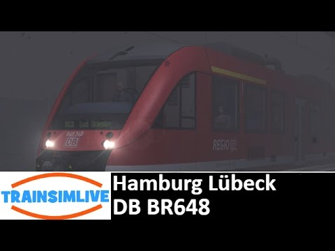 Let's Play Train Simulator - Hamburg Lübeck, DB BR648