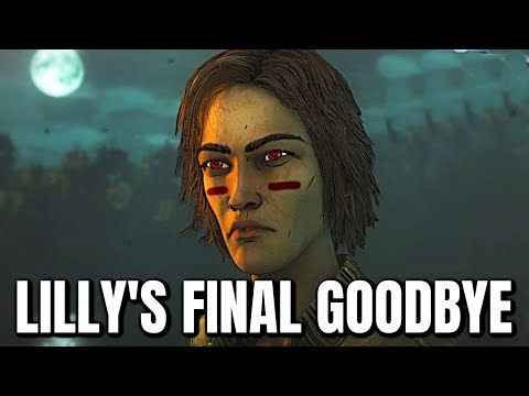 Lilly's Goodbye to Clementine - The Walking Dead: The Final Season - Episode 4