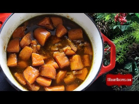 How To Make Candied Yams On The Stovetop - I Heart Recipes