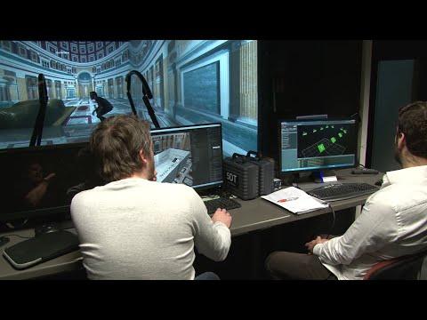 The CIREVE's Virtual Reality Theater (Cave) - Université de Caen Normandie