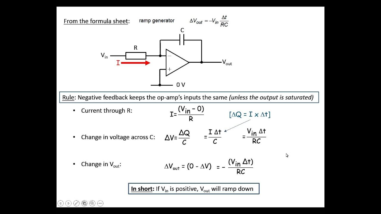 Ramp Generator Youtube Exponential Waveform Circuit Making Easy Circuits