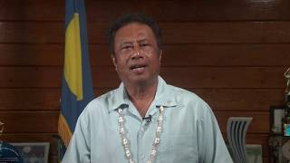 Video statement from tommy e. remengesau, jr (president of the republic palau). at cvf virtual summit, 2018.
