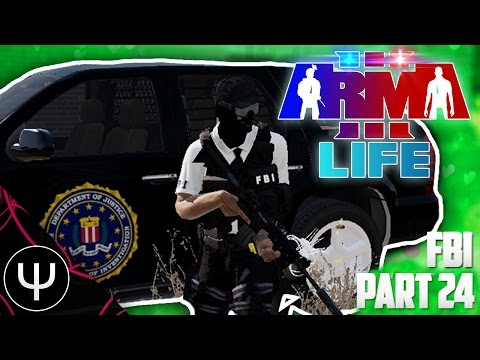 ARMA 3: Life Mod — FBI — Part 24 — Helicopter Hell!