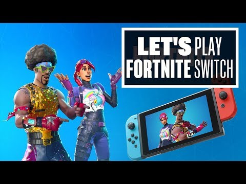 Let's Play Fortnite on Nintendo Switch! - GET FLOSSED!