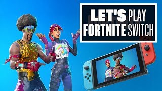 Jouons Fortnite sur Nintendo Switch! - GET FLOSSED!