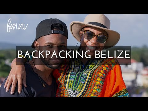 Backpacking in Belize Tourist Guide | FMNV Travel Vlog