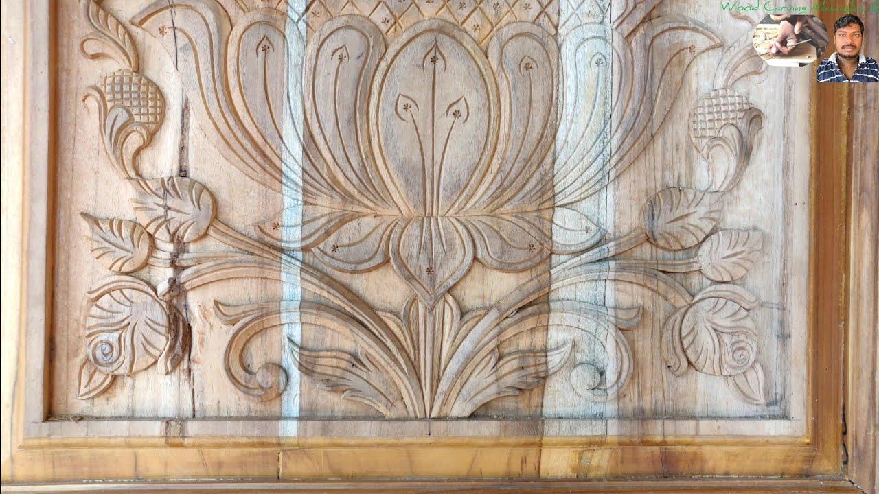 Wood carving low cost wonderful design looking super wood Carving Mahindra AP