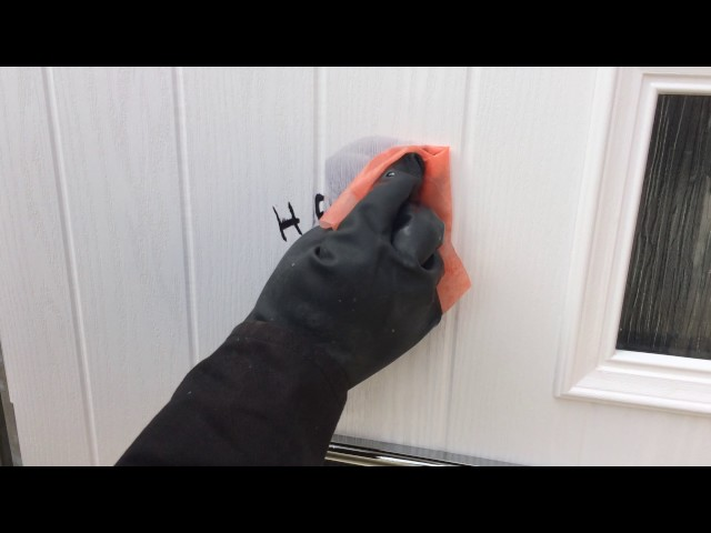 How to Remove Graffiti from a Front Door | Graffiti Removal Ltd