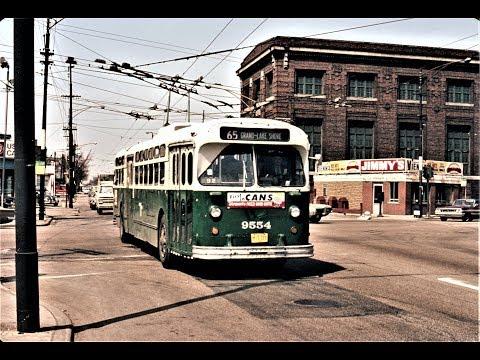 Chicago Trolleybus Scenes