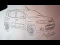 Desenhando Fiat Uno Vivace 2013