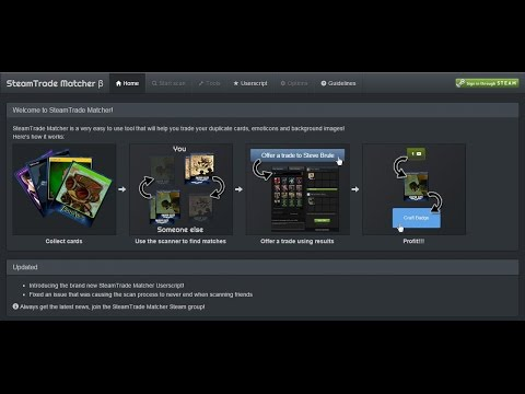 [Indonesia] Tutorial SteamTrade Matcher + Userscript + Tools