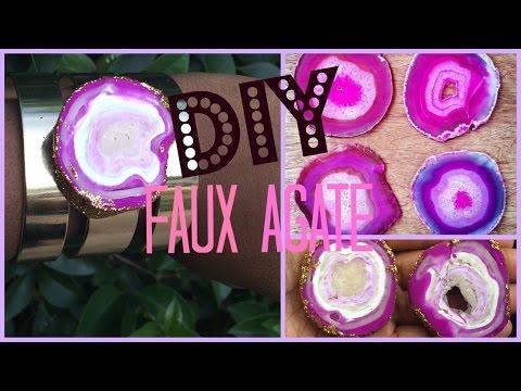 DIY: Faux Agate | Tanamontana100 inspired