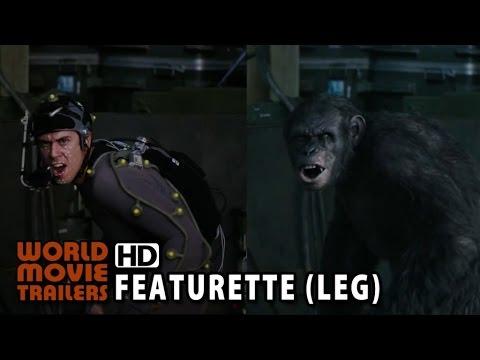 Planeta dos Macacos: O Confronto Featurette WETA Legendado (2014) HD - World Movie Trailers  - _uYhrOU7rOo -