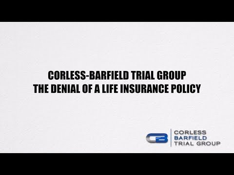 Denied Life Insurance Policy Attorney in Tampa, FL