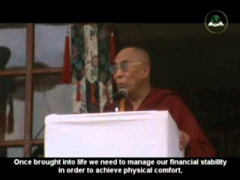 His Holiness the Dalai Lama Speaks to the Buddhist followers in Jispa