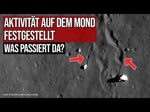 Aktivität auf dem Mond festgestellt - Was passiert da?