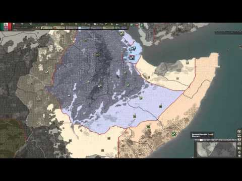 Hearts of Iron 3 - Black Ice 8.5 -  Italy [3] GG Africa war!