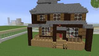 Minecraft EDU:  House Replica