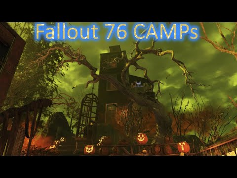 Fallout 76 - CAMP Tour - House on Haunted Hill |