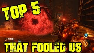 Easter Eggs That Fooled Us!   TOP 5   Call of Duty Zombies   Black Ops 3 Zombies