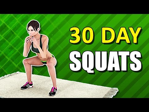 30 Day Squat Challenge [Home Exercise]