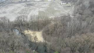 Река Харьков  Большая Даниловка  Пара уютных мест для отдыха