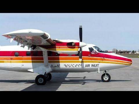 Air Inuit Dash-6 Twin Otter (DHC6) Engine Start & Departing Montreal (YUL/CYUL)