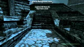Skyrim: Killing Vittoria Vicci publicly without bounty but with bonus