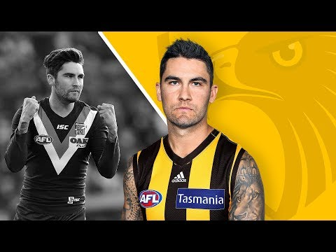 Get excited: Chad Wingard becomes a Hawk | Trade Period, 2018 | AFL