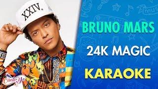 Bruno Mars - 24K Magic (Karaoke) | CantoYo