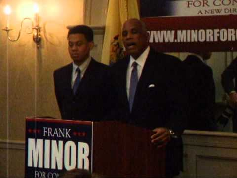 Mayor Frank Minor announcement speech 2014