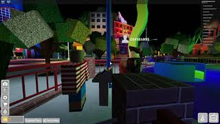Universal Studios Roblox Theme Park - Last day of The Simpsons & Universal Cinematic Spectacular