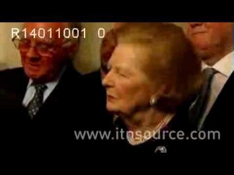 Margaret Thatcher at the Bruges Group