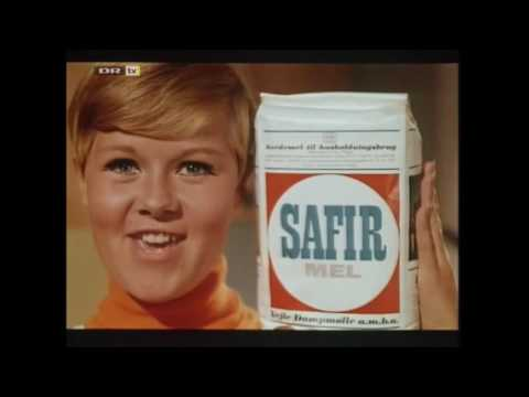 Bullerfnis - Reklame for Safir Mel med Daimi